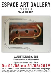 Affiche Sarah LOUNICI