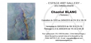 Invitation Chantal BLANC