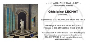Invitation Ghislaine LECHAT