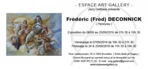 Invitation Frédéric (Frèd) DECONNICK