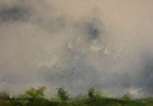 """Ludovic Broquart (Fr)  """"Image de paysage 978"""" 1500 €"""