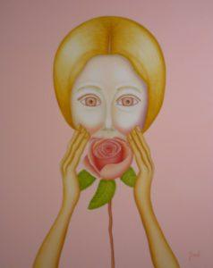 """Jacqueline Kirsch (Be) """"Le parfum n° 2"""" 2900 €"""