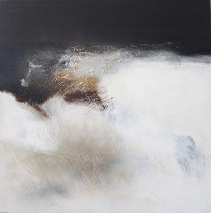 """*Jacqueline Guibat (Fr) """"Blanc et neige"""" 2400 €"""