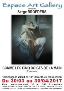 Affiche Serge BROEDERS