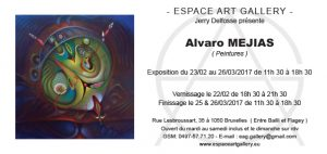 Invitation Alvaro MEJIAS