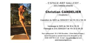 Invitation Christian CANDELIER