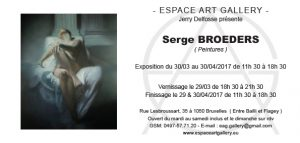Invitation Serge BROEDERS
