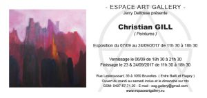 Invitation nouv Christian GILL