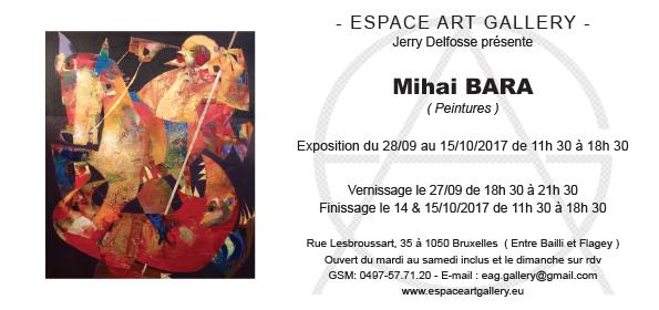 Espace Art Gallery Vous Presente Ses Prochains Vernissages Le 27