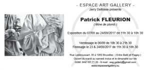 Invitation Patrick FLEURION
