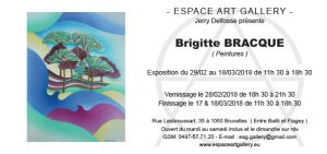 Invitation Brigitte BRACQUE