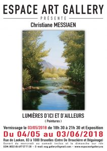 Affiche Christiane MESSIAEN