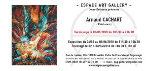 Invitation Arnaud CACHART