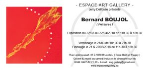 Invitation Bernard BOUJOL