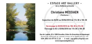 Invitation Christiane MESSIAEN