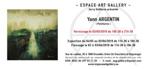 Invitation Yann ARGENTIN