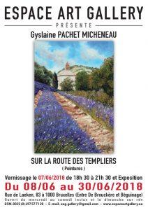 Affiche Gyslaine PACHET MICHENEAU