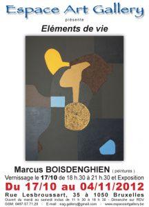 Affiche 1710 Marcus Boisdenghien