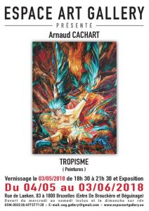 Affiche Arnaud CACHART pour réseau
