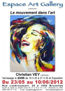 Affiche Christian VEY