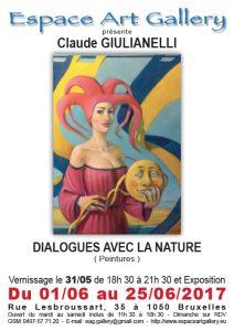 Affiche Claude GIULIANELLI