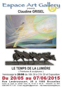 Affiche Claudine GRISEL