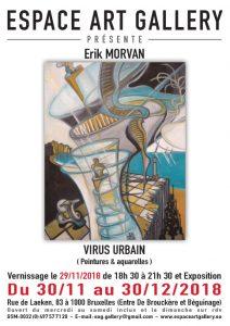 Affiche Erik MORVAN