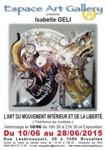 Affiche Isabelle GELI