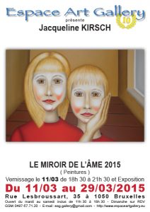 Affiche Jacqueline KIRSCH