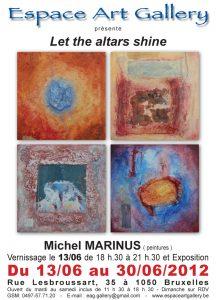 Affiche Michel MARINUS