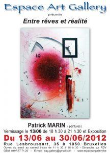 Affiche Patrick Marin