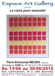 Affiche Pierre MEURIS