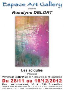 Affiche Roselyne DELORT