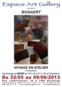 Affiche mai-juin Bogaert 2013