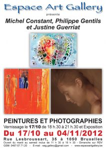 Affiche octobre - novembre collectif 2012