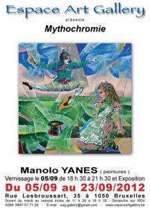 Affiche septembre 2012 Manolo Yanes Affiche