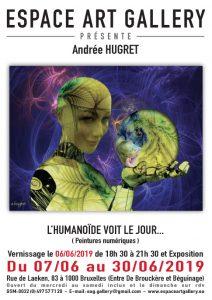 Affiche Andree HUGRET