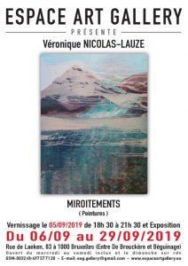 Affiche Veìronique NICOLAS-LAUZE