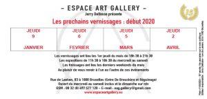 Art Gallery deìbut 2020 Invitation-2